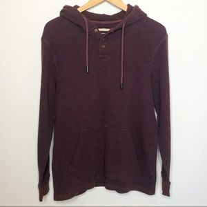O'Neill Thermal Maroon Pullover Hoodie L